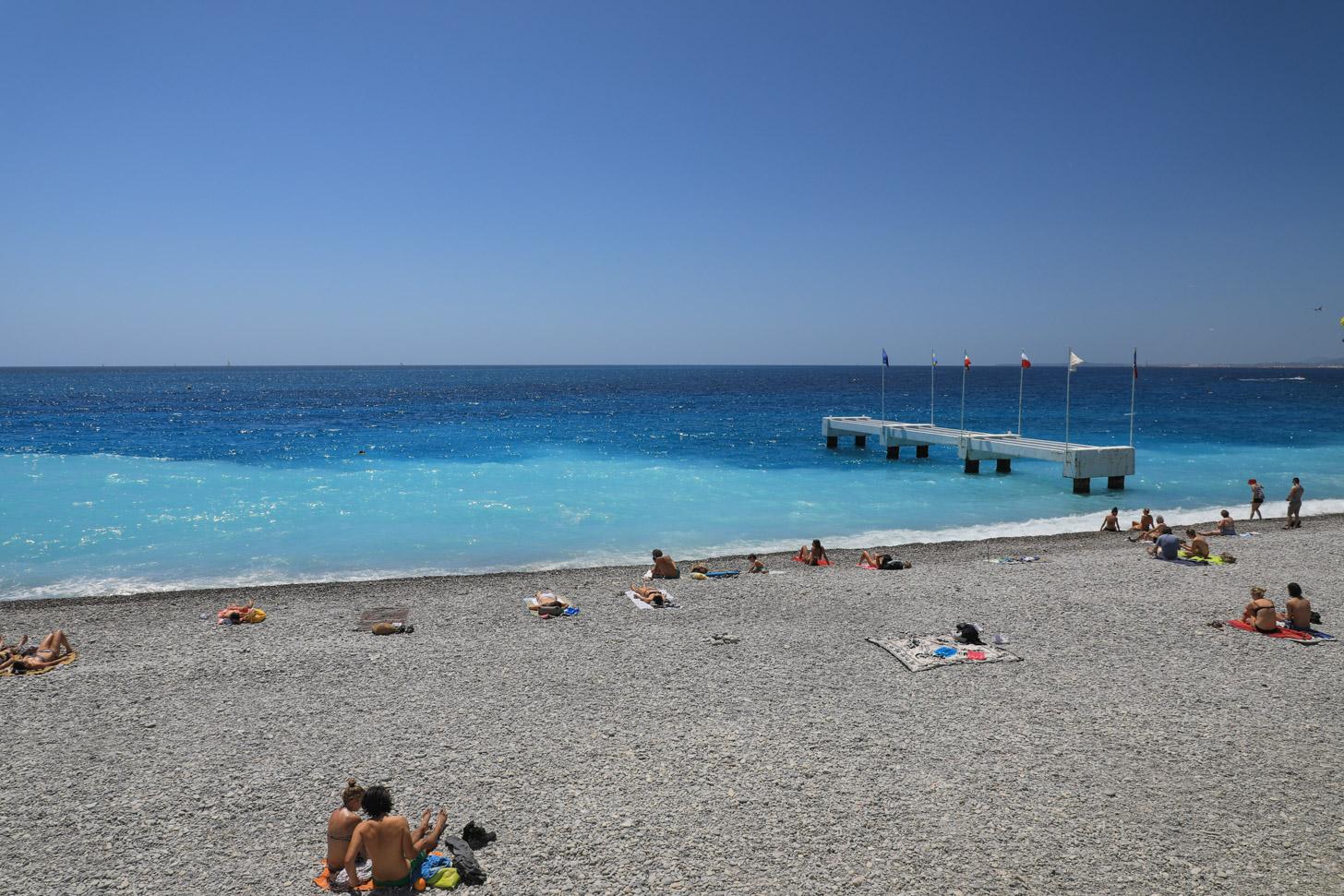Stranden van Nice