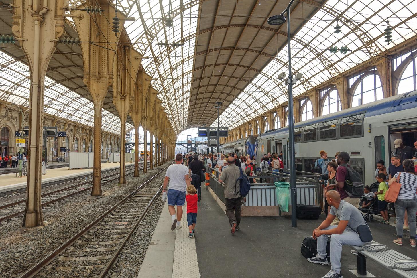 Met de trein naar Nice reizen